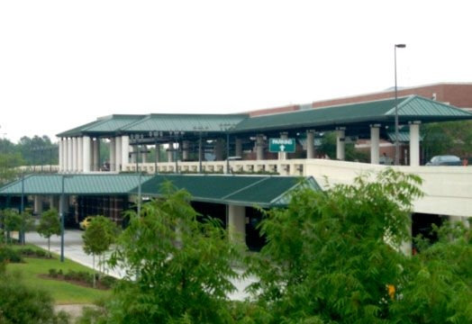 Airport Bus And Taxi Canopies Savannah Ga Pioneer