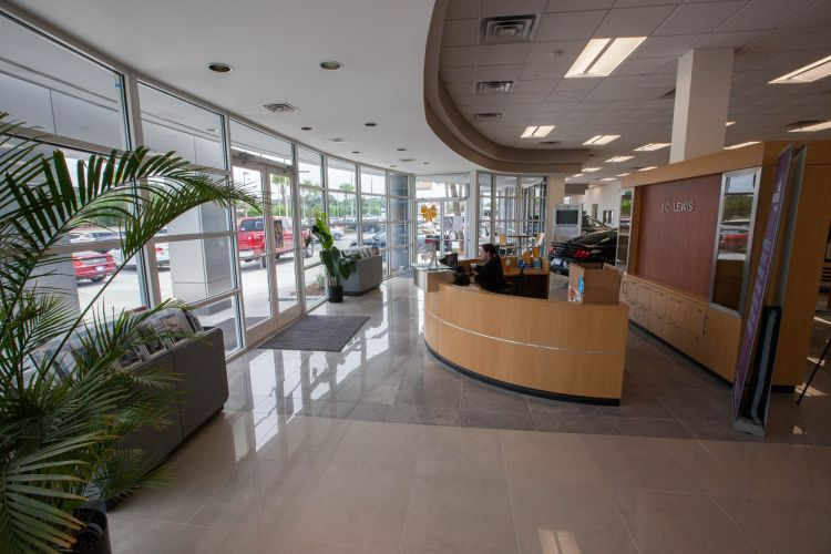 JC Lewis Ford Reception Area